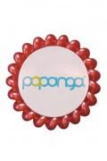 Papanga Classic veľká - koralová červená
