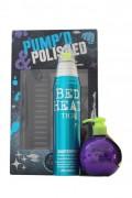 TIGI Bed Head Pump'd & Polished krém 3v1 200 ml + lak s leskom 340 ml