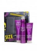 TIGI Bed Head Size Matters šampón 250 ml + kondicionér 200 ml + tužidlo 311 ml