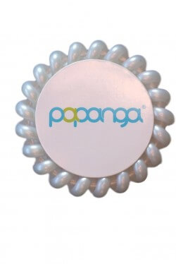 Papanga Classic veľká - perleťová biela