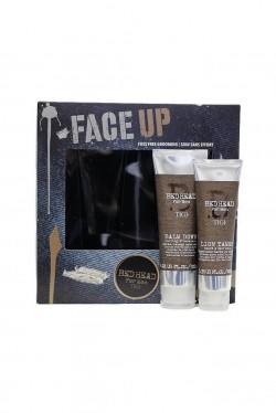 TIGI Bed Head Face Up krém po holení 125 ml + balzam na bradu 100 ml