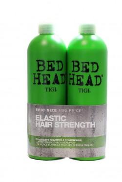 TIGI Bed Head Elasticate Strengthening šampón 750 ml + kondicionér 750 ml