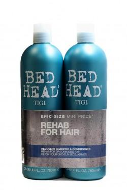 TIGI Bed Head Recovery šampón 750 ml + kondicionér 750 ml