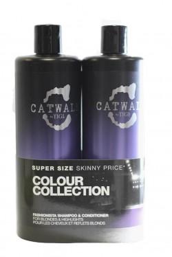 TIGI Catwalk Fashionista šampón 750 ml + kondicionér 750 ml
