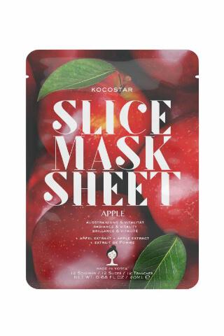 Kocostar Slice Mask Sheet Apple pleťová maska 20 ml