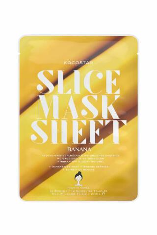 Kocostar Slice Mask Sheet Banana pleťová maska 20 ml