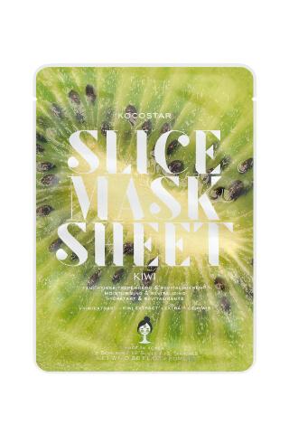Kocostar Slice Mask Sheet Kiwi pleťová maska 20 ml