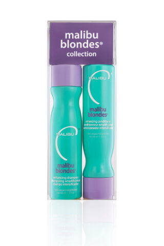 Malibu Blondes Enhancing Collection šampón 266 ml + kondicionér 266 ml + wellness sáčky 4 kusy
