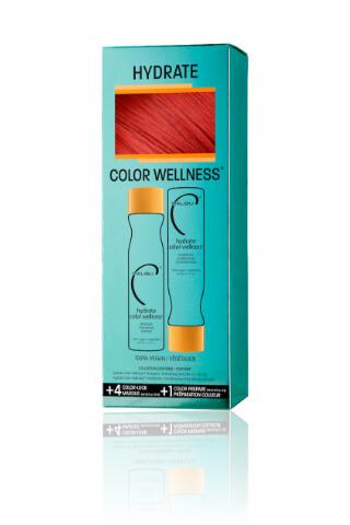 Malibu Hydrate Color Wellness Collection šampón 266 ml + kondicionér 266 ml + wellness sáčky 5 kusov