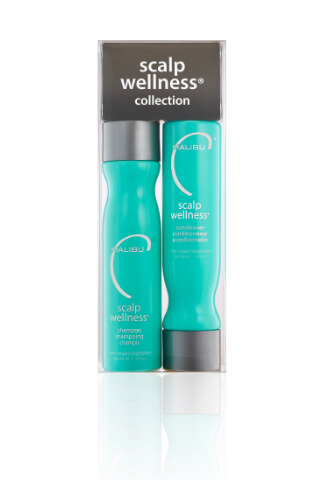 Malibu Scalp Wellness Collection šampón 266 ml + kondicionér 266 ml + wellness sáčky 4 kusy