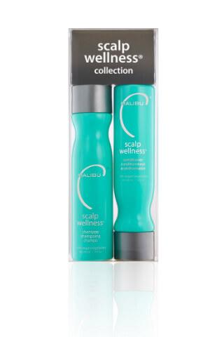 Malibu Scalp Wellness Collection šampón 266 ml + kondicionér 266 ml + wellness sáčky 4 kusy