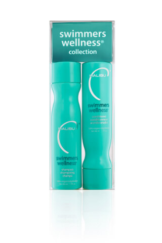 Malibu Swimmers Wellness Collection šampón 266 ml+ kondicionér 266 ml + wellness sáčky 4 kusy