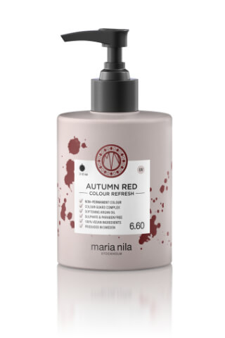 Maria Nila Colour Refresh Autumn Red maska s farebnými pigmentami 300 ml