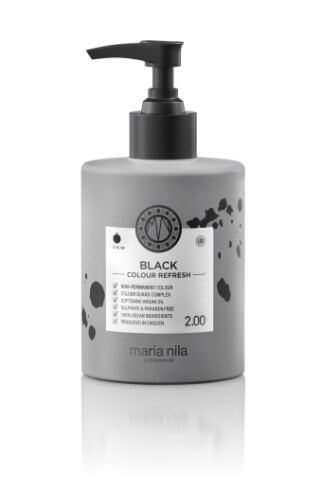 Maria Nila Colour Refresh Black maska s farebnými pigmentami 300 ml