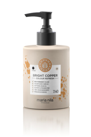 Maria Nila Colour Refresh Bright Copper maska s farebnými pigmentami 300 ml