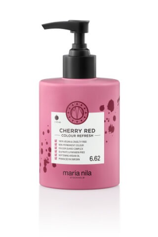 Maria Nila Colour Refresh Cherry red maska s farebnými pigmentami 300 ml