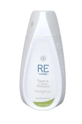 Nanokeratin System Restore-Preserve šampón na farbené vlasy 320 ml