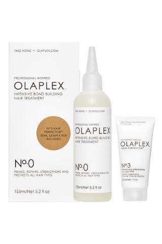 Olaplex No. 0 Intensive Bond Building Hair Treatment 150 ml + 30 ml Olaplex No. 3 zadarmo