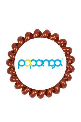 Papanga Classic veľká - červenohnedá