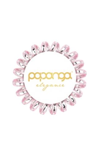 Papanga Elegance malá - ružovo-strieborná