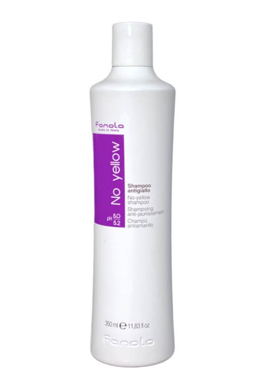 Fanola No yellow shampoo antigiallo šampón na šedivé, zosvetlené a odfarbované vlasy 350 ml