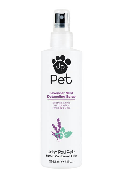 John Paul Pet Lavender Mint Detangling Spray 236 ml