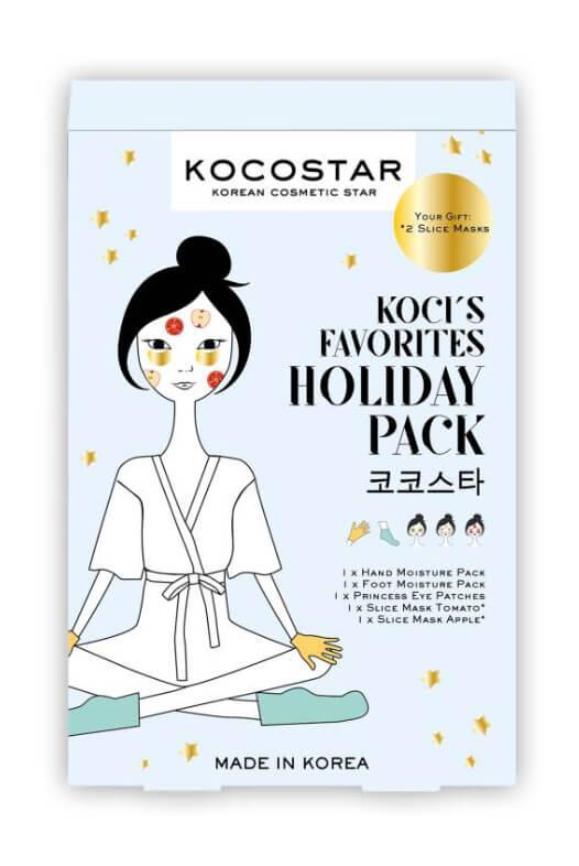 Kocostar Holiday Pack sada telových a pleťových masiek