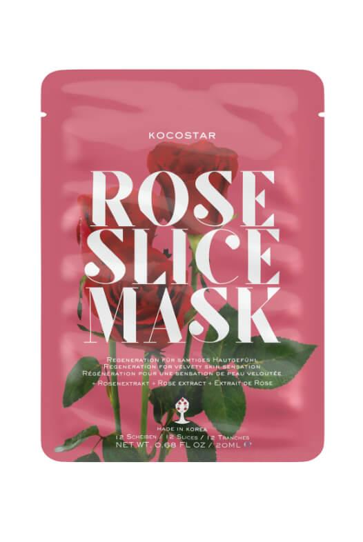 Kocostar Rose Slice Mask pleťová maska