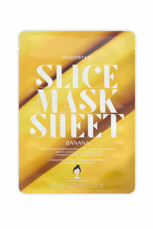 Kocostar Slice Mask Sheet Banana pleťová maska 20 ml