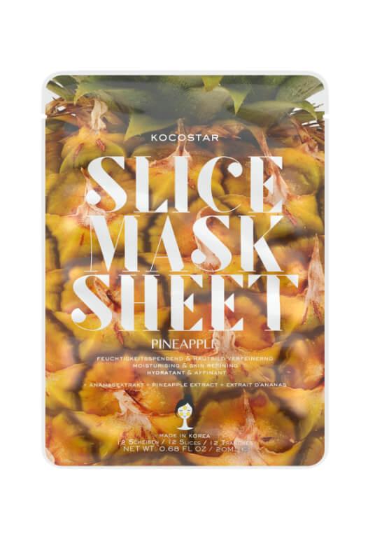 Kocostar Slice Mask Sheet Pinapple pleťová maska