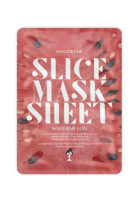 Kocostar Slice Mask Sheet Watermelon pleťová maska 20 ml
