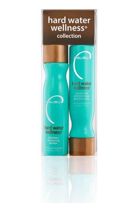 Malibu Hard Water Wellness Collection šampón 266 ml + kondicionér 266 ml + wellness sáčky 4 ks