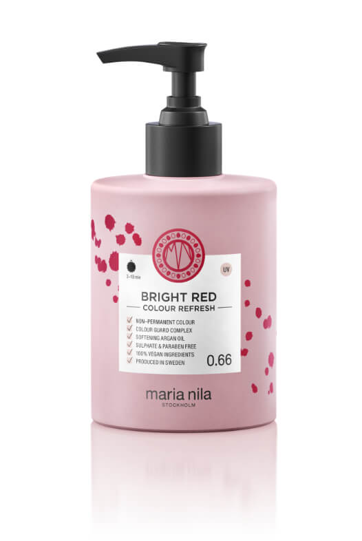 Maria Nila Colour Refresh Bright Red maska s farebnými pigmentami 300 ml