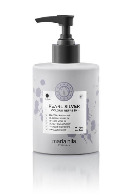 Maria Nila Colour Refresh Pearl Silver maska s farebnými pigmentami 300 ml