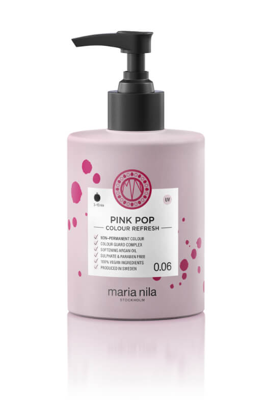Maria Nila Colour Refresh Pink Pop maska s farebnými pigmentami 300 ml