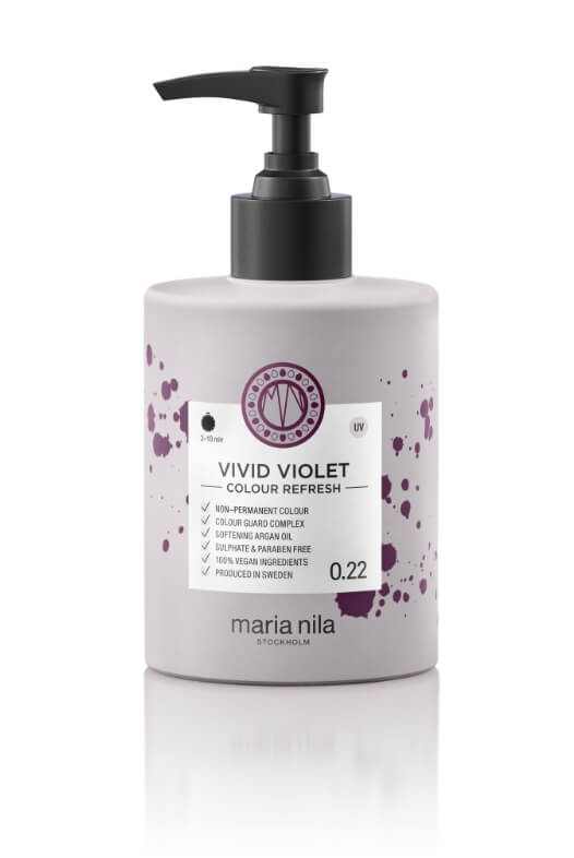 Maria Nila Colour Refresh Vivid Violet maska s farebnými pigmentami 300 ml