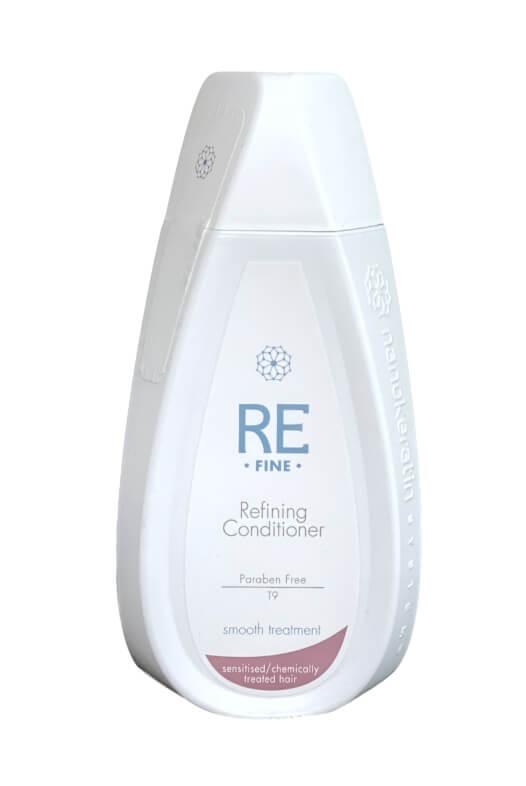 Nanokeratin System Refine Refining kondicionér na chemicky ošetrené vlasy a citlivé vlasy 320 ml