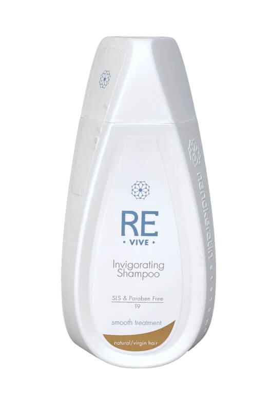 Nanokeratin System Revive Invigorating šampón na naturálne vlasy 320 ml
