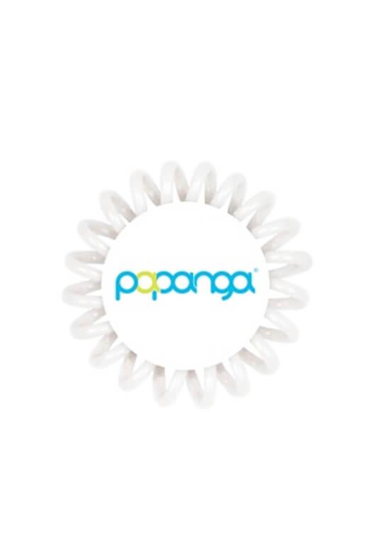 Papanga Classic malá - ľadová biela