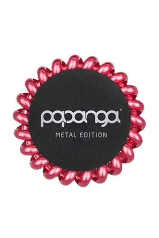 Papanga Metal Edition veľká - kráľovská červená