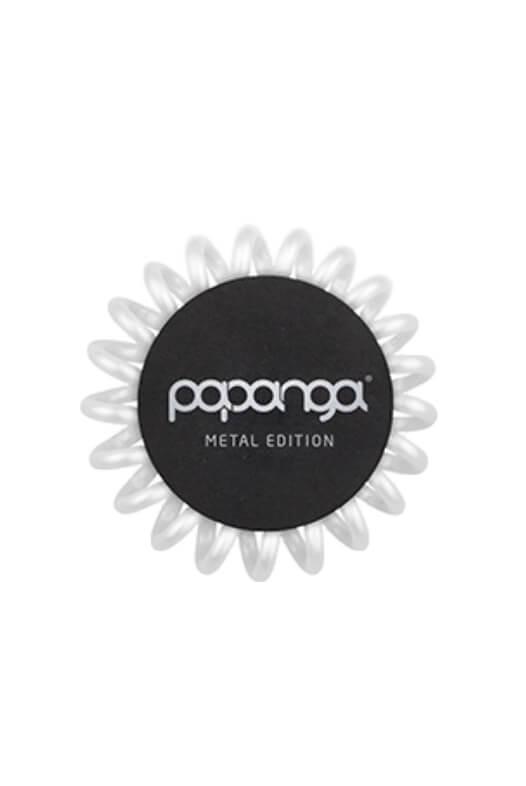 Papanga Metal Edition malá - perleťová biela