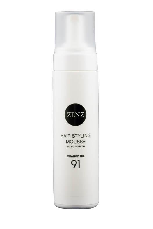 ZENZ Hair Styling Mousse Orange No.91 Extra Volume (200 ml)